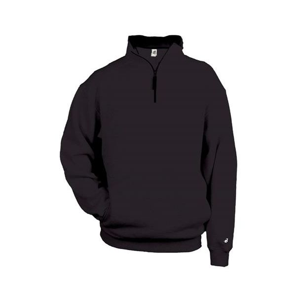 1286 Badger 1/4 Zip Fleece Pullover