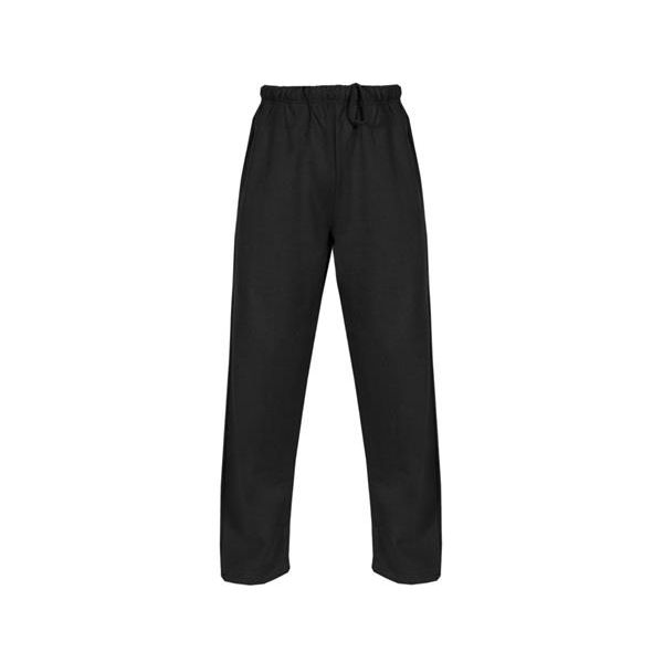 1377 Badger Adult Heavyweight Open Bottom Pant  - 1377-Black