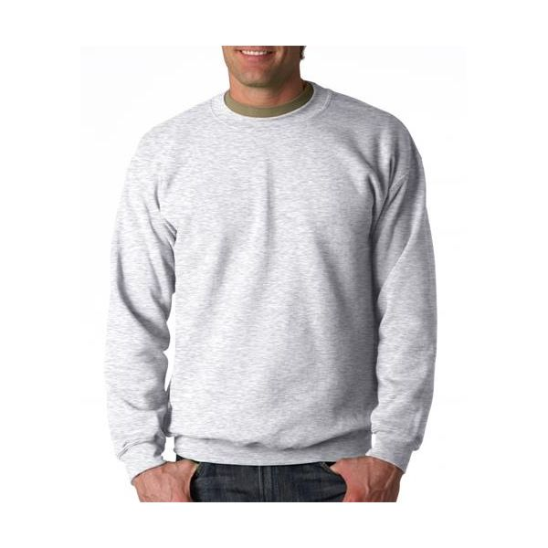 18000 Gildan Adult 50/50Heavy BlendTM Crewneck Sweatshirt  - 18000-Ash (50/50)