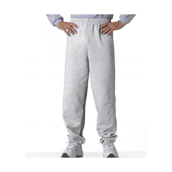 18200 Gildan Adult 50/50 Heavy BlendTM Sweatpants  - 18200-Ash (50/50)