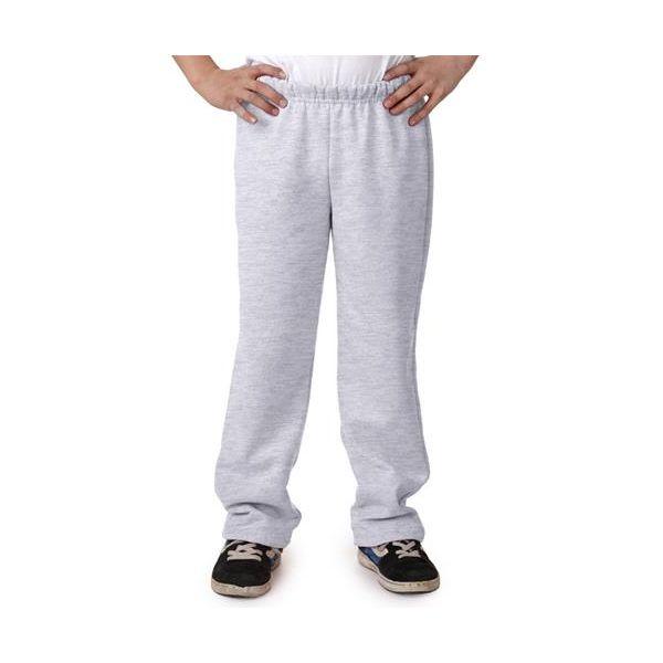 18400B Gildan Youth Heavy BlendOpen Bottom Sweatpants
