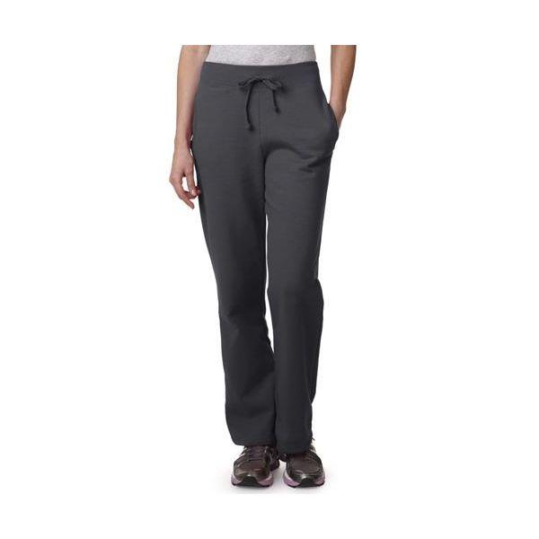18400FL Gildan Missy Fit Heavy BlendOpen Bottom Sweatpants
