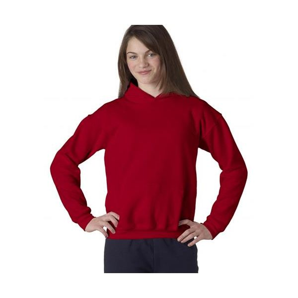 18500B Gildan Youth Heavy BlendHooded Sweatshirt