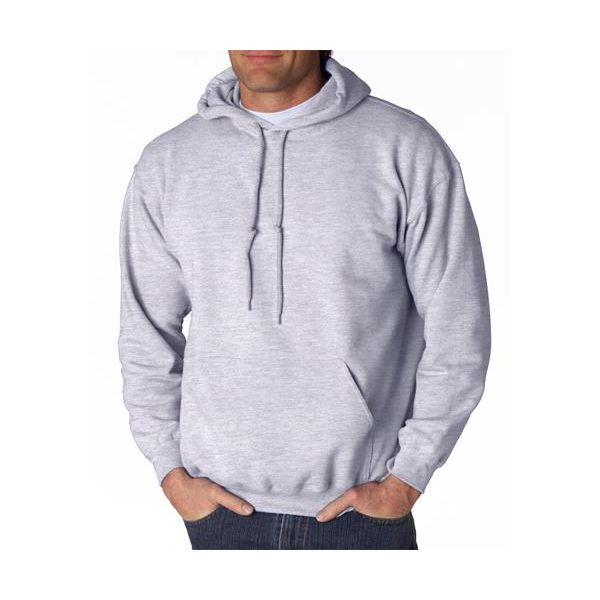18500 Gildan Adult Heavy BlendTM Hooded Sweatshirt  - 18500-Ash (50/50)