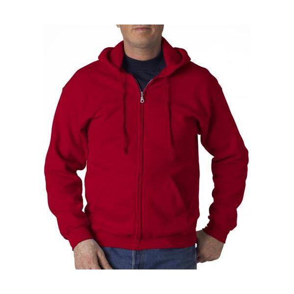 18600 Gildan Adult Heavy BlendFull-Zip Hooded Sweatshirt