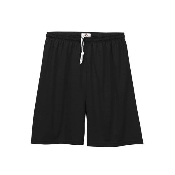 2107 Badger Youth B-Dry Core Shorts  - 2107-Black