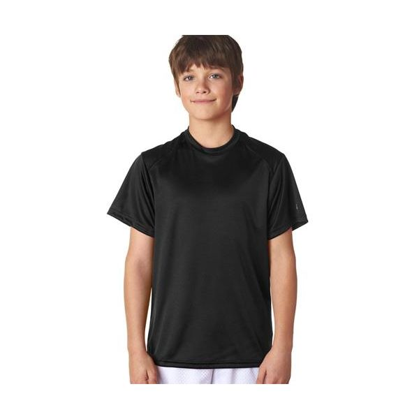 2120 Badger Youth B-Dry Core Performance Tee  - 2120-Black