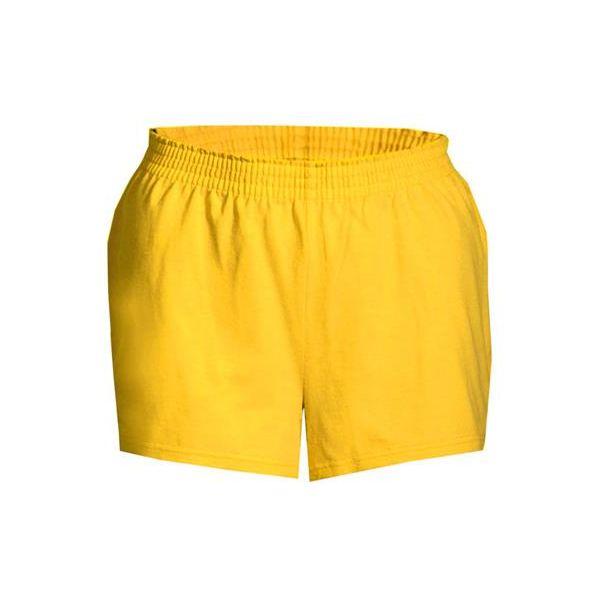 2202 Badger Girls' Cheerleader Shorts  - 2202-Gold
