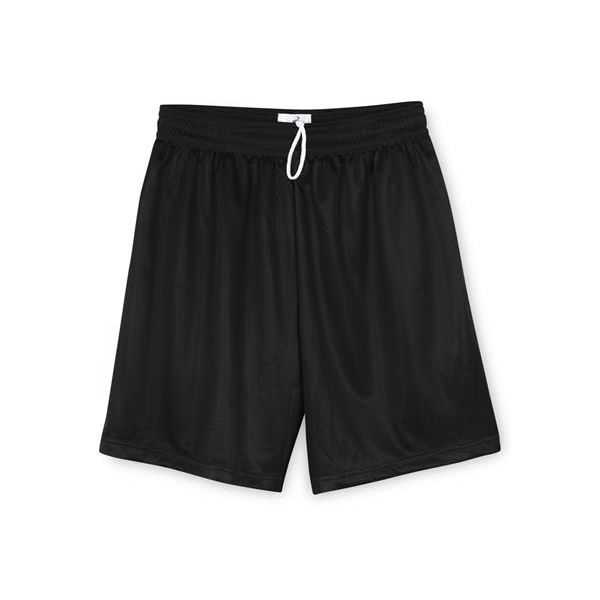 2237 Badger Youth Mini-Mesh Shorts  - 2237-Black