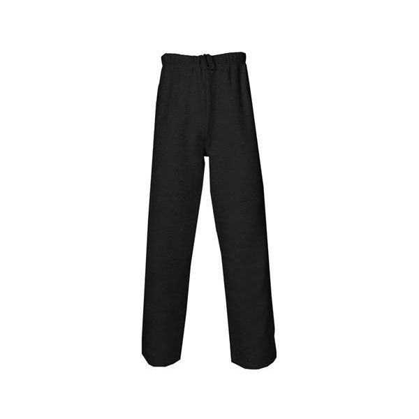 2277 Badger Youth Athletic Fleece Side Pocket Hem Leg Sweat Pant  - 2277-Black