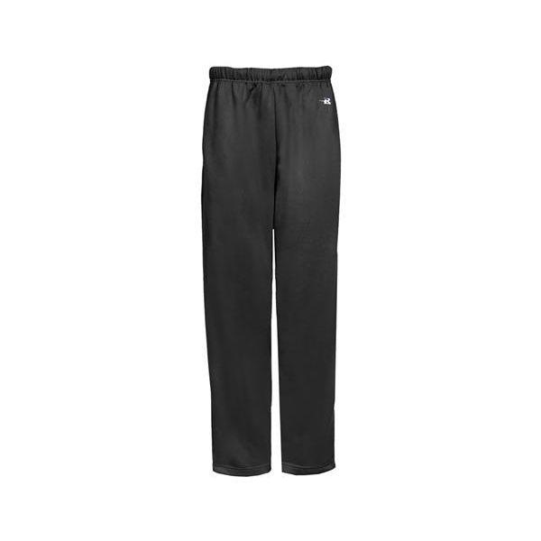 2478 Badger Youth Performance Open Bottom Side Pocket Performance Pant  - 2478-Black