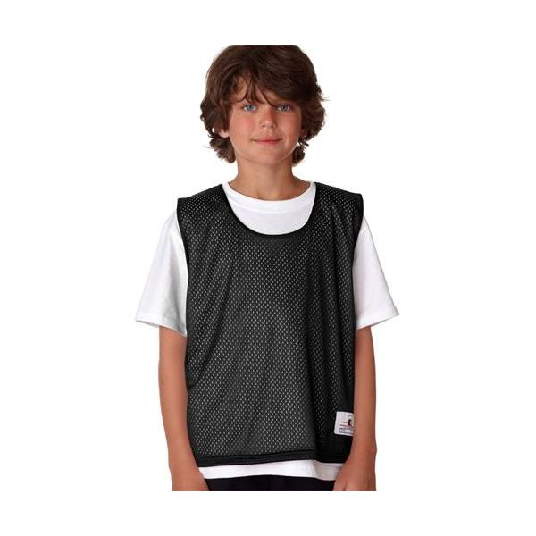 2560 Badger Youth Lacrosse Reversible Tank  - 2560-Black/ White