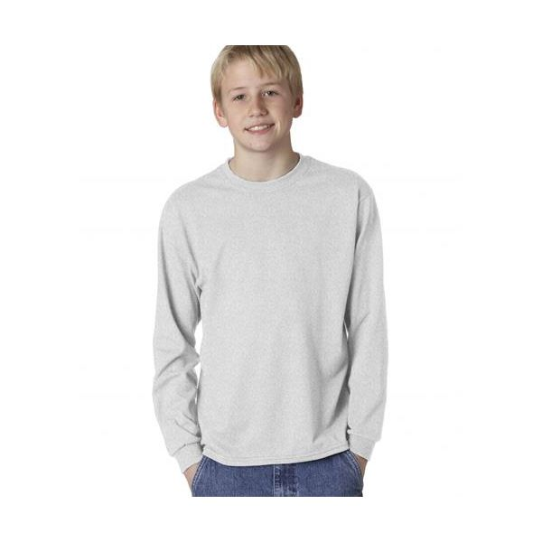 29BL Jerzees Youth Heavyweight BlendLong-Sleeve T-Shirt