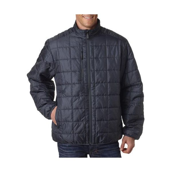 3110 Storm Creek Men's Lightweight Quilted Nylon Jacket  - 3110-Coal