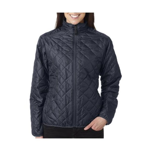 3115 Storm Creek Ladies' Lightweight Quilted Nylon Jacket  - 3115-Coal