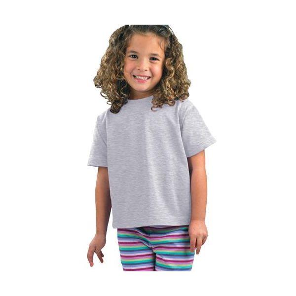 3301J Rabbit Skins Juvenile Cotton T-Shirt  - 3301J-Ash (99/1)