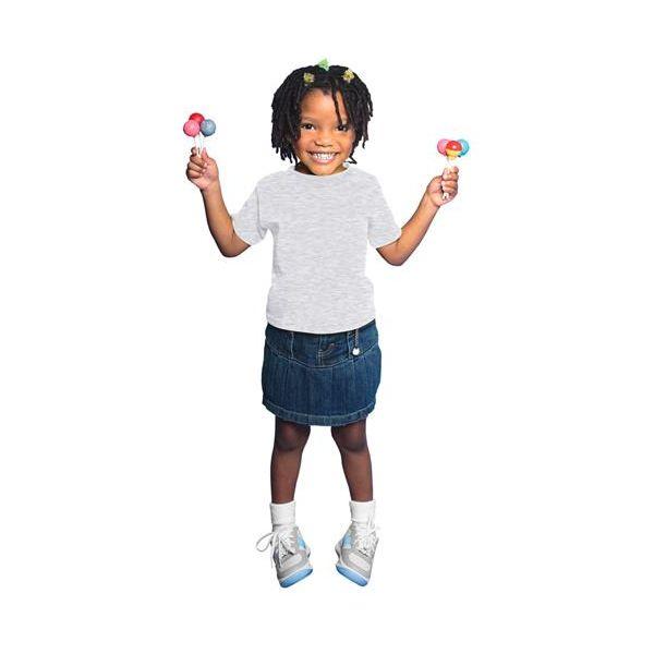 3301T Rabbit Skins Toddler Cotton T-Shirt  - 3301T-Ash (99/1)