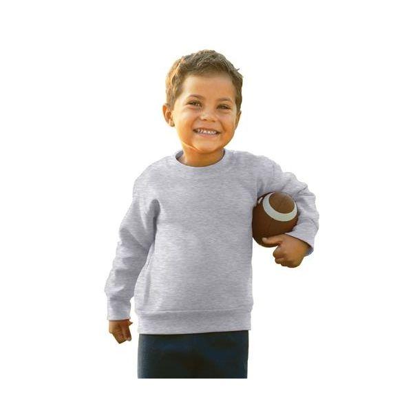 3317 Rabbit Skins Toddler/Juvenile Crewneck Sweatshirt  - 3317-Ash (99/1)