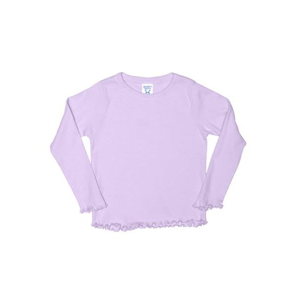 3337 Rabbit Skins Toddler Long-Sleeve Tiny Tee  - 3337-Lilac