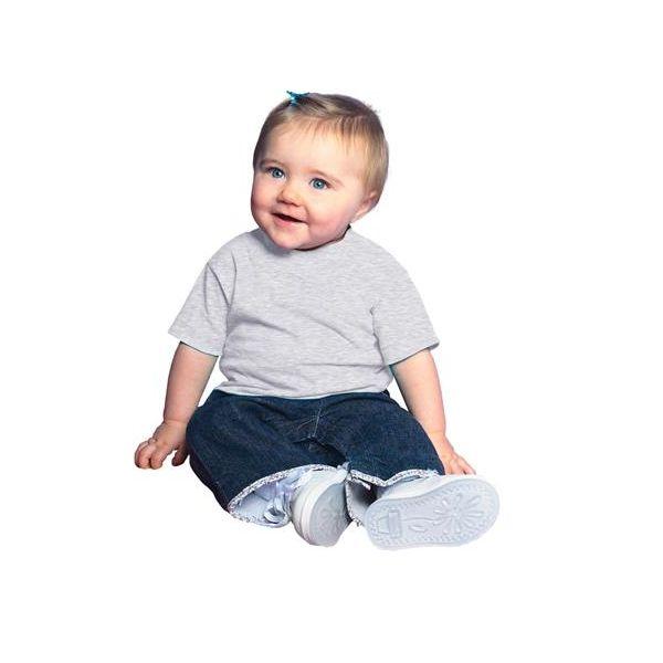 3401 Rabbit Skins Infant Cotton T-Shirt  - 3401-Ash (99/1)