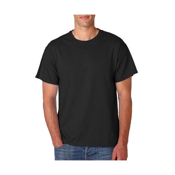 363 Jerzees Adult HiDENSI-TTM Cotton T-Shirt  - 363-Black