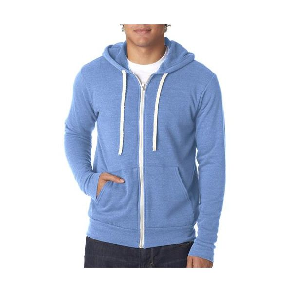 3909 Bella+Canvas Unisex Tri-blend Full-Zip Hoodie