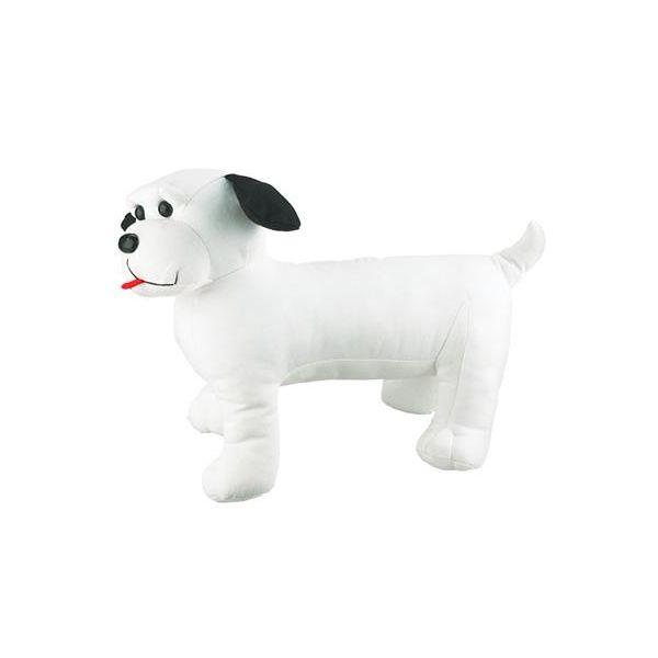 3939 Doggie Skins Mannequin  - 3939-White-One