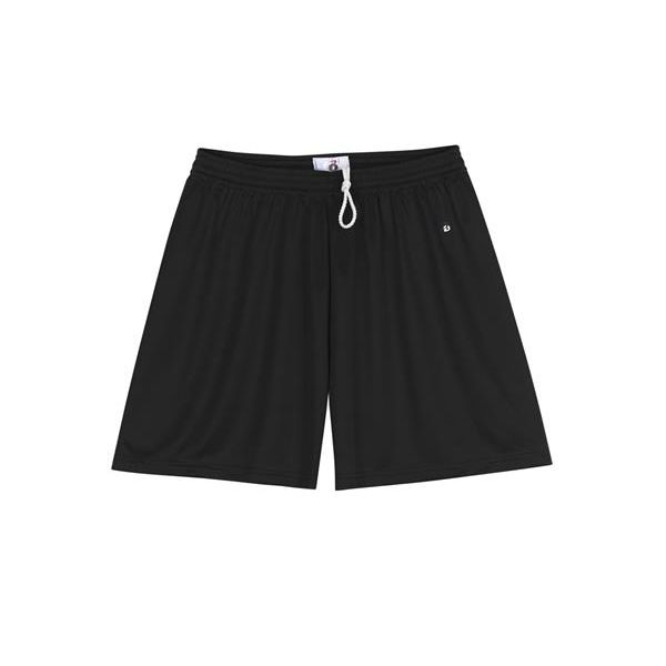 4116 Badger Ladies' B-Dry Core Short  - 4116-Black
