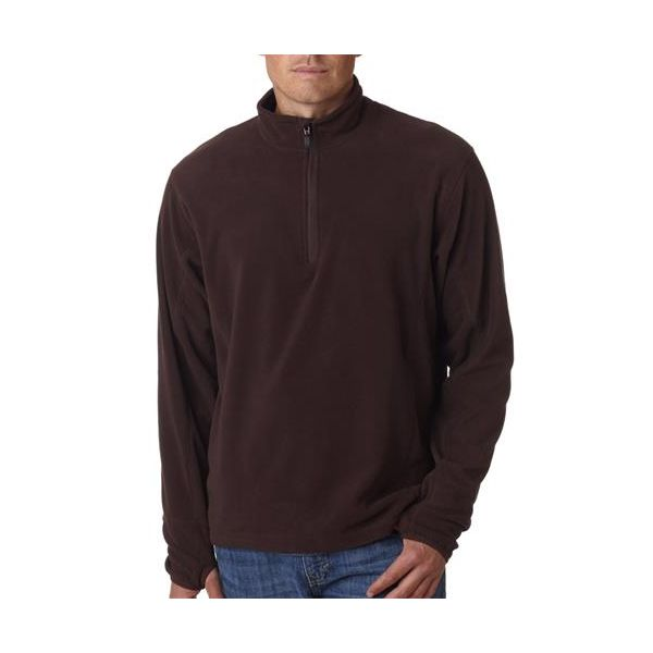 4609 Storm Creek Men's Microfleece Quarter-Zip Pullover  - 4609-Chocolate