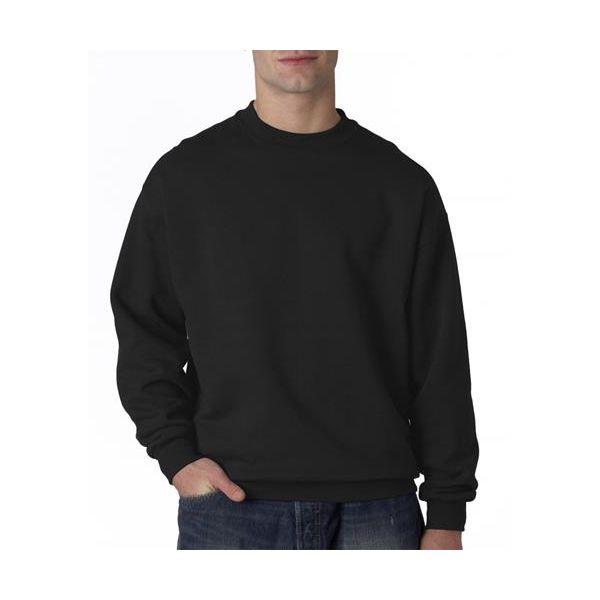 4662 Jerzees Adult Super Sweats® Crewneck Sweatshirt  - 4662-Black