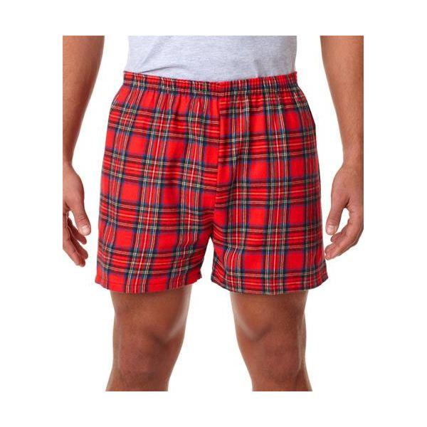 4970 Robinson Adult Cotton Flannel Shorts  - 4970-Royal Stewart