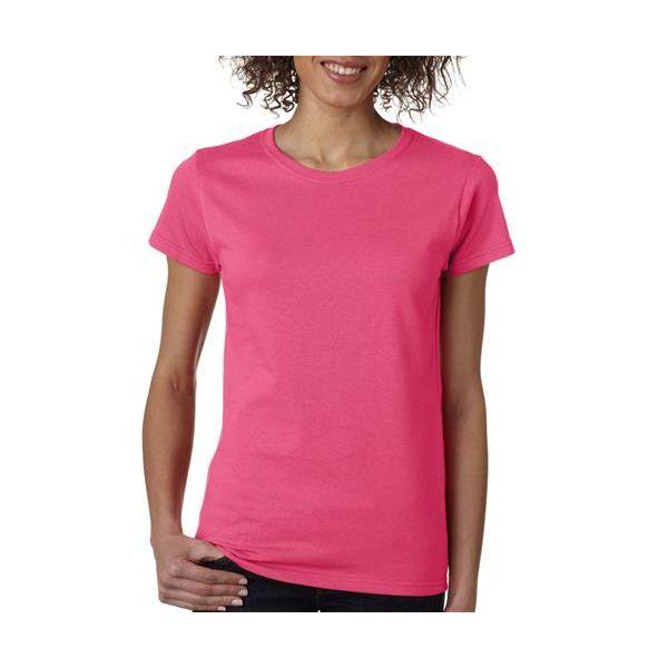 5000L Gildan Missy Fit Heavy Cotton T-Shirt  - 5000L-Heliconia