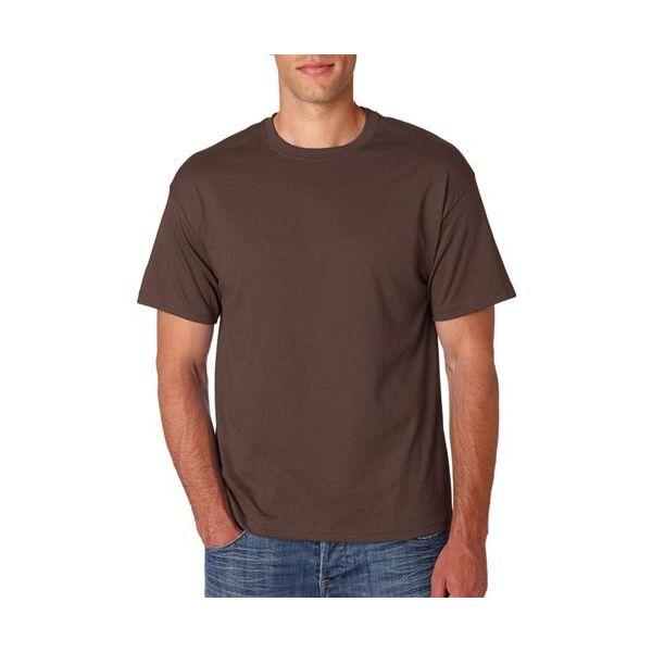 5170 Hanes Adult ComfortBlend EcoSmart® Tee  - 5170-Dark Chocolate