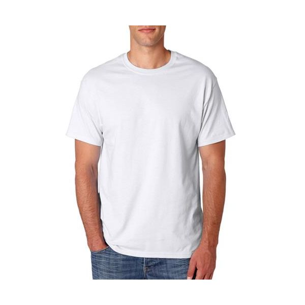 5280 Hanes Adult ComfortSoft® Heavyweight Tee  - 5280-White