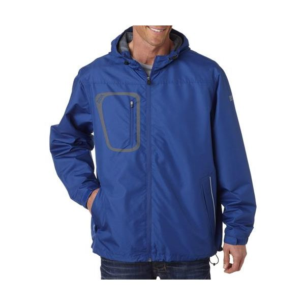 5319 Dri-Duck Adult Dri Pack PolyesterJacket  - 5319-Cobalt