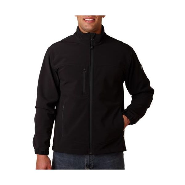 5350 Dri-Duck Adult Motion Soft-Shell Jacket  - 5350-Black