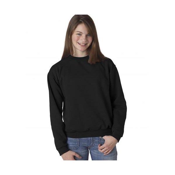 562B Jerzees Youth NuBlend® Crewneck 50/50 Sweatshirt  - 562B-Black