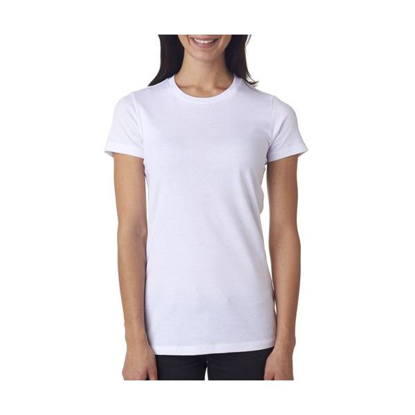 6004 Bella+Canvas Ladies' Cotton The Favorite Tee  - 6004-White