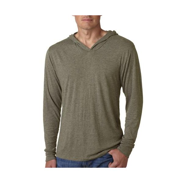 6021 Next Level Tri-Blend Long-Sleeve Hoody