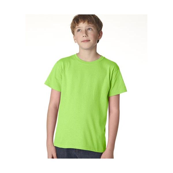 705B Anvil Youth Classic Cotton Tee  - 705B-Key Lime