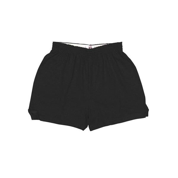 7202 Badger Ladies' Cheer Shorts  - 7202-Black
