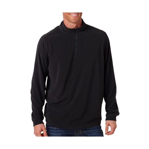 7396 Dri-Duck Adult Element Fleece ¼ Zip  - 7396-Black
