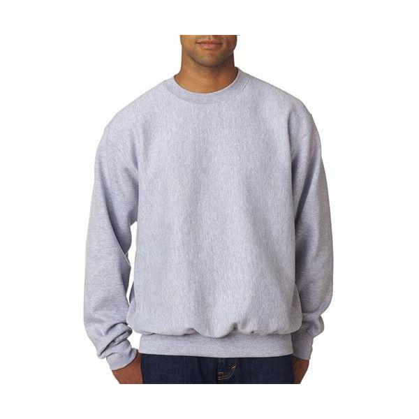7788 Weatherproof Adult Cross Weave® Crewneck Blend Sweatshirt  - 7788-Heather (80/20)