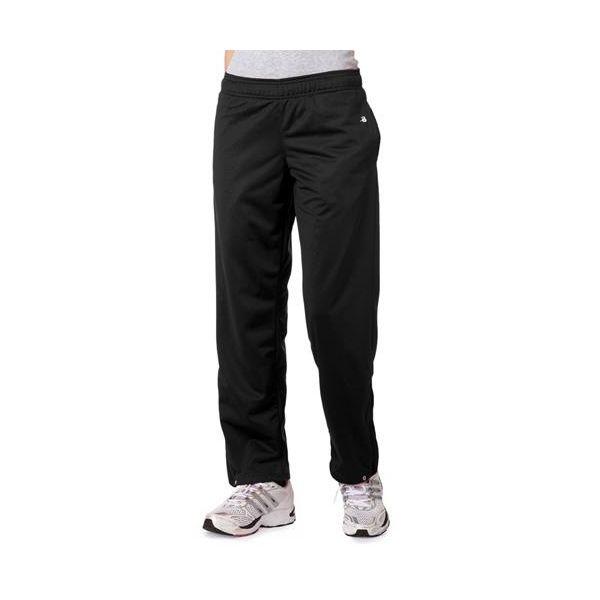 7911 Badger Ladies' Brushed Tricot Pants  - 7911-Black