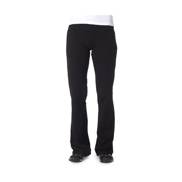 810 Bella+Canvas Ladies' Cotton/Spandex Fitness Pants  - 810-Black