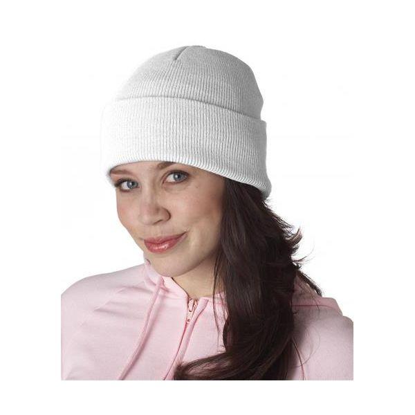 8130 UltraClub® Acrylic Knit Beanie with Cuff  - 8130