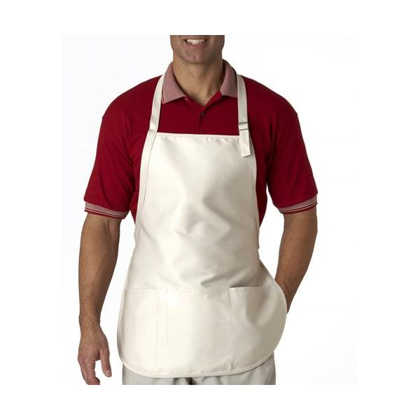 8205 UltraClub® Three-Pocket Blend Apron with Buckle  - 8205