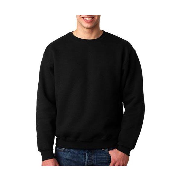 82300 Fruit of the Loom Adult SupercottonTM Sweatshirt  - 82300-Black