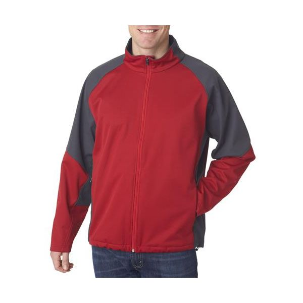 8275 UltraClub® Adult Soft Shell Jacket
