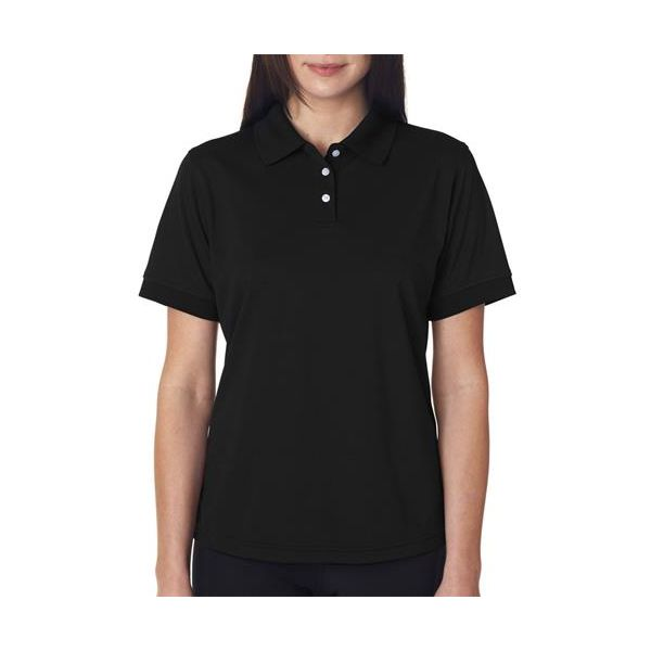 8315L UltraClub® Ladies' Platinum Performance Piqué Polo with TempControl Technology